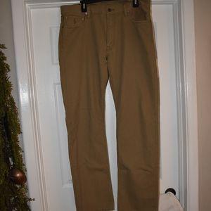 Ralph Lauren Khaki Jeans